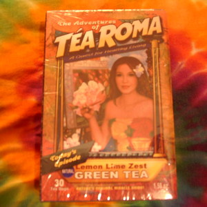 Lemon Lime Zest GREEN Tea from Roma Tea Company Pittsburg Pa