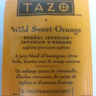 Wild Sweet Orange from Tazo
