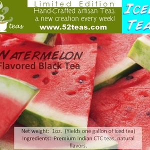 Watermelon Black Tea (Iced Tea Series) from 52teas