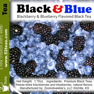 Black & Blue from 52teas