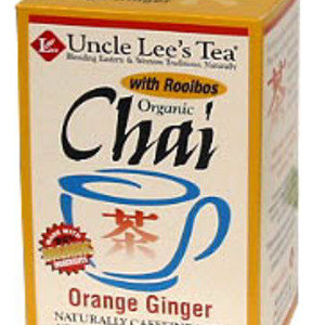 Organic Chai Orange Ginger from Uncle Lee's Tea