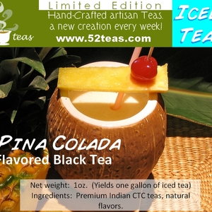 Piña Colada Black Tea (Iced Tea Series) from 52teas