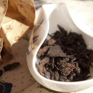 Xingyang 1998 Golden Leaf Pu'er from Verdant Tea