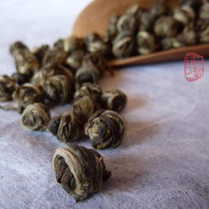 Jasmine Dragon Pearl Green Tea from Chawangshop