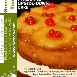 Pineapple Upside-Down Cake Green Tea from 52teas