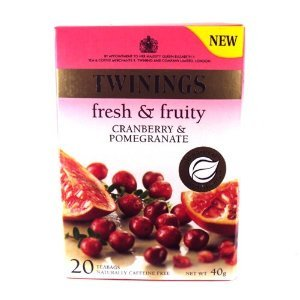 Cranberry & Pomegranate from Twinings