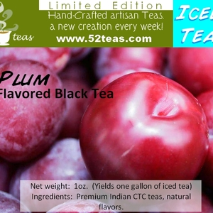 Plum Flavored Black Tea (Iced Tea Series) from 52teas