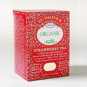 Organic Strawberry Tea from St. Dalfour