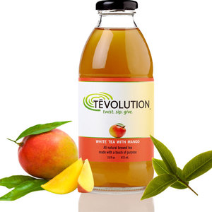 Tvolution / Tevolution White Tea with Mango from Purpose Beverages, Inc.