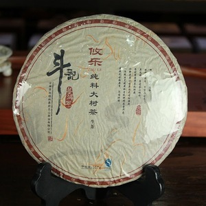 2010 Douji Pure Series &quot;You Le&quot; Raw Puerh Tea Cake from China Cha Dao