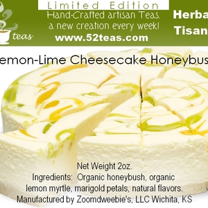 Lemon-Lime Cheesecake Honeybush from 52teas