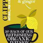 Organic Lemon & Ginger Infusion from Clipper