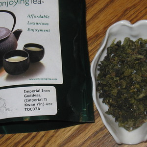 imperial ti kwan yin from EnjoyingTea.com
