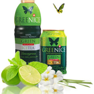 Greenice Green Ice Tea Lemongrass from GreenMe AG
