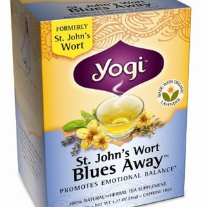 St. John's Wort Blues Away from Yogi Tea
