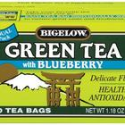 Green Tea with Blueberry from Bigelow