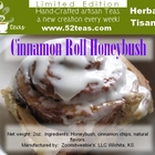 Cinnamon Roll Honeybush from 52teas