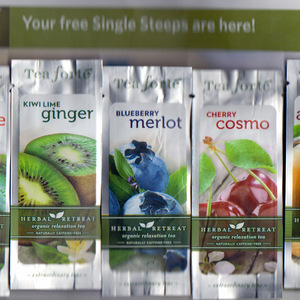Single Steeps Sampler --Herbal Retreat from Tea Forte