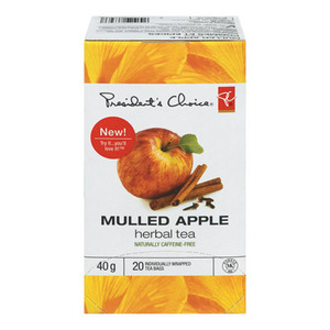 PC Mulled Apple Herbal Tea from President&#x27;s Choice