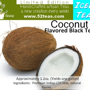 Coconut Flavored Black Tea (Iced Tea Series II) from 52teas
