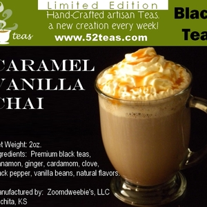 Caramel Vanilla Chai from 52teas