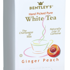 Ginger Peach White Tea from Bentleys Finest Tea