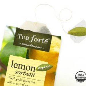 Lemon Sorbetti from Tea Forte