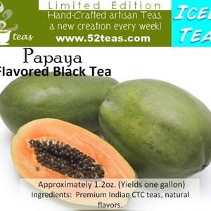 Papaya Flavored Black (Iced Tea Series) from 52teas