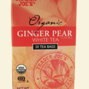 Ginger Pear White Tea from Trader Joe's