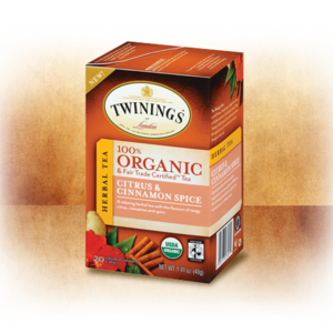 Organic Citrus & Cinnamon Spice from Twinings