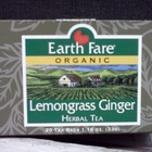 Lemongrass Ginger from Earth Fare Organics