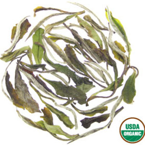 Organic White Peony (Bai Mu Dan) from Rishi Tea