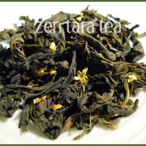 Organic Osthmanthus Oolong from Zen Tara Tea