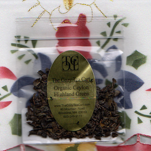 Organic Ceylon Highland Green Tea (sampler) from The Cozy Tea Cart, LLC