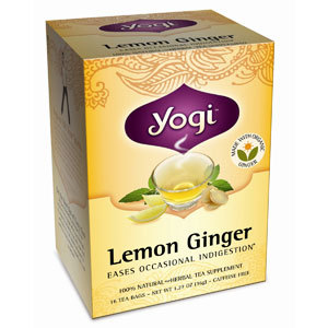 Lemon Ginger Herbal Tea from Yogi Tea