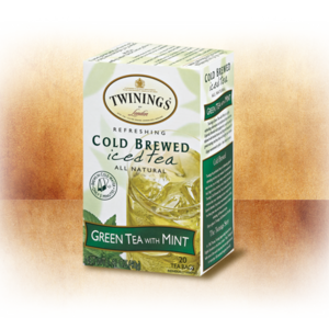 Green Tea with Mint Cold Brewed Iced tea from Twinings