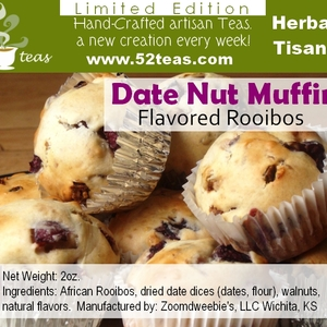 Date Nut Muffin Rooibos from 52teas