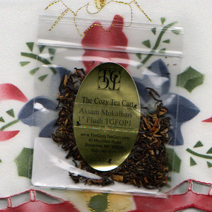 Assam Mokalbari 1st Flush TGFOP1 (tea sampler) from The Cozy Tea Cart, LLC