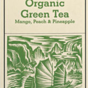 Organic Mango, Peach & Pineapple Green Tea from Good Earth Teas