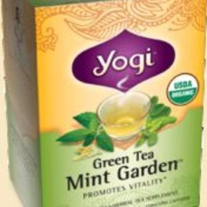 Green Tea Mint Garden from Yogi Tea