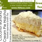 Coconut Banana Cream Pie Hojicha from 52teas