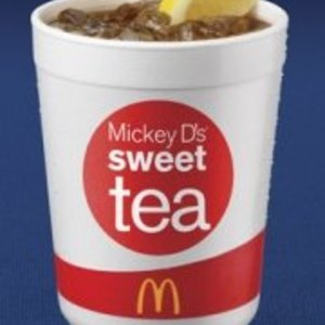Sweet Tea from McDonald's