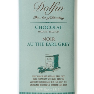 Dark chocolate with Earl Grey tea from Dolfin