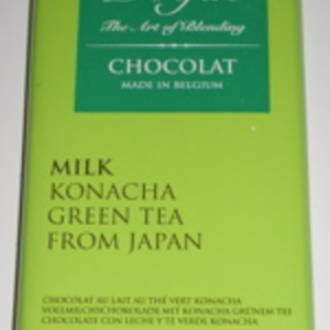 Milk Chocolate with Konacha Green Tea from Dolfin