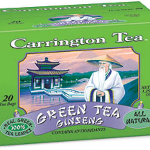 Green Tea Ginseng from Carrington Tea