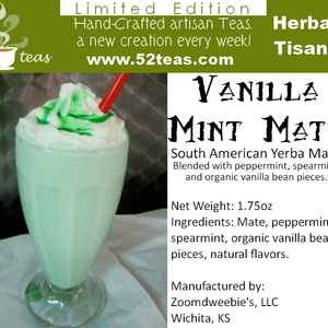 Vanilla Mint Mate from 52teas