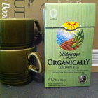 Organically Grown Tea from Ridgways