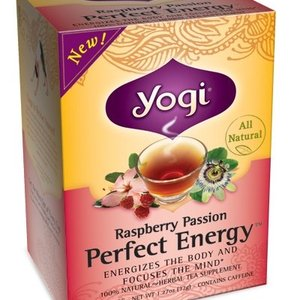 Raspberry Passion Perfect Energy from Yogi Tea
