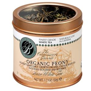 Organic White Peony from The Boston Tea Company