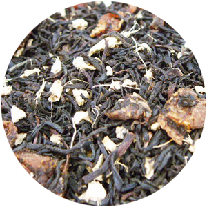 Organic Ginger Peach Apricot Black Tea from Tea District